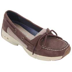Women's 1-Eye Performance Boat Mocs