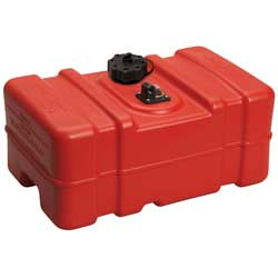 Low Permeation 9 Gallon Above-Deck Fuel Tank
