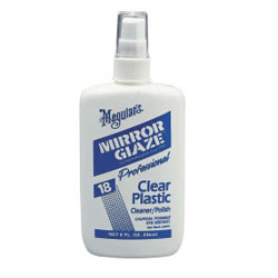 #18 Mirror Glaze Clear Plastic Cleaner/Polish