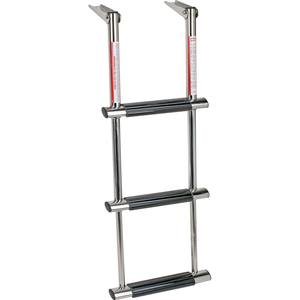 Stainless Steel 3-Step Telescoping Dive Ladder