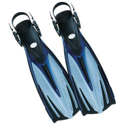 Imprex Tir-Ex Dive Fin, Small, Blue