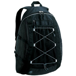 Mesh Backpack, Black