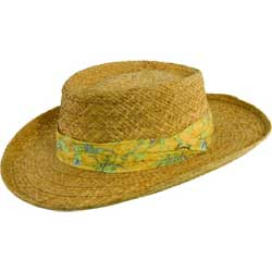 Men's Tommy Bahama Braided Raffia Gambler Hat