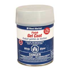 Gelcoat, White, Gallon
