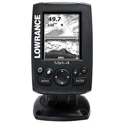 Mark-4 Chartplotter / Fishfinder with Transducer