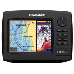 HDS-7 Gen2 Fishfinder / Chartplotter Combo, Insight USA Cartography without Transducer