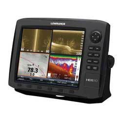 HDS-10 Gen2 Fishfinder / Chartplotter Combo without Transducer, Insight USA Cartography
