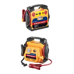 300 Amp Jump-Starter with Air Compressor