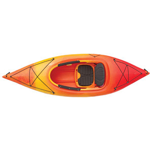 Saba 9.5 Sit-Inside Kayak, Yellow/Orange