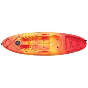 Abaco 9.5 Sit-On-Top Kayak, Yellow/Orange