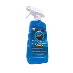 Clear Plastic & Vinyl Window Wax, 16 oz.