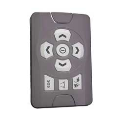 Wireless Bridge-Mounted Remote Control for Precision Spotlight