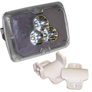 Marine-Grade LED Spotlight with Clamp