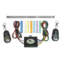 "Multicolor LED 20"" Light Strip Kit, Complete Light Strip Kit with Controller"