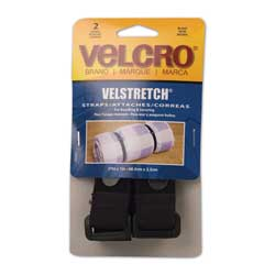 "Velstretch All-Purpose Straps, 27"" x 1"" - 2 Pack"