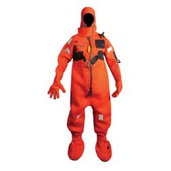 Immersion Suit, Adult Extended Size, 225-325lbs.