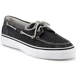 Men's Bahama Fleck Canvas 2-Eye Boat Shoes