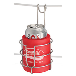 Boatmates Sailbuoy Stainless Steel Drink Holder with Koozie