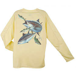 Men's Champion Hungry Tuna Long-Sleeve Tee