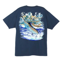 Men's Marlin and Boat 2 Tee