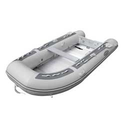 AL-390 Heavy Duty Inflatable Sportboat—Gray Hypalon