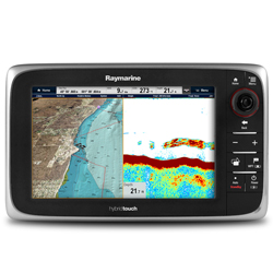 "e-Series e97 Network Multi-function Display with Wireless Capability, 9"" Diagonal, Sonar, US Coastal Chart"
