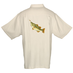 Men's Largemouth Bass Short-Sleeve Shirt