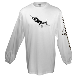 Men's Jolly Roger Long-Sleeve Tech Tee