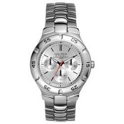 Silver Metal Round Multi-function Watch