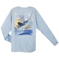 Men's Champion Sailfish Boat Long-Sleeve Tee