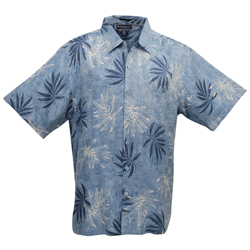 Men's Leaf Meadow Short-Sleeve Woven Shirt