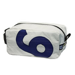 Recycled Sailcloth Toiletry/Shoe Bag
