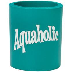 Aquaholic Can Koozie