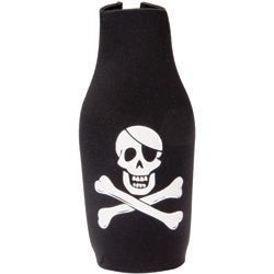 Pirate Bottle Jacket Koozie