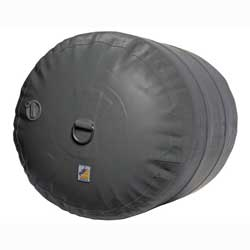 Heavy-Duty Inflatable Fenders, Gray