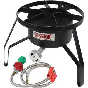 LP Gas Crab Cooker