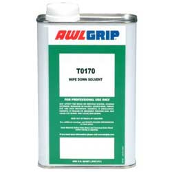 Awlprep 400 Slow Evaporating Wipe Down Solvent, Gal.