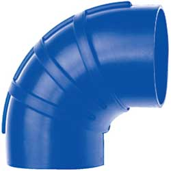 90° Silicone Exhaust Elbow Connectors, Series 290S