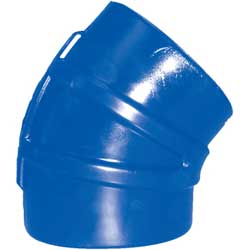 45° Silicone Exhaust Elbow Connectors, Series 245S