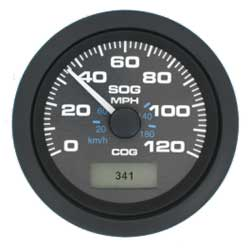 Premier Series GPS Speedometers, Black