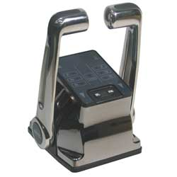 Twin Gold with Stainless Steel Handles Switch Kit, Single Station, Dual Engine