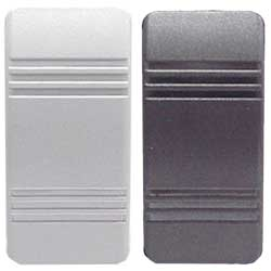 Standard Weather Resistant Contura III Rocker Switch (1 Black, 1 Gray)