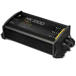 MK330D Battery Charger (3 bank); NOT FOR SALE IN CALIFORNIA