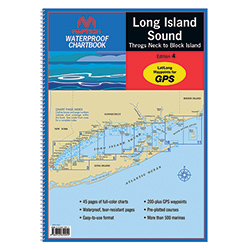 Long Island Sound 2013 Waterproof Chartbook, 4th Edition