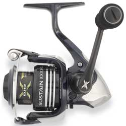 SA1000FG Sustain® Spinning Reel, Right/left Convertible, 7lb. Drag, 6.0:1 Gear Ratio, 8+1BB