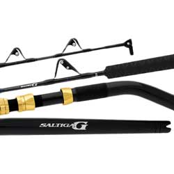 Saltiga G Deep Drop Conventional Rod, Extra Heavy Power, 80-200 lb. Line Class, 5'6""