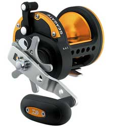 Seagate Star Drag Conventional Reel, ML, 3CRBB, 1RB, 6.4:1 GR, 19.8 Max Drag, BRAID: 40/600, 50/360, 20.4oz