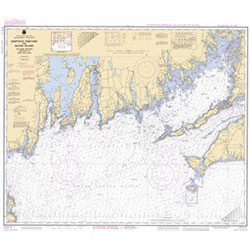 1210 Training Chart, Martha's Vineyard to Block Island
