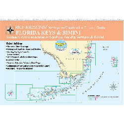 Waterproof Chartbook And Cruising Guide: Florida Keys & Bimini