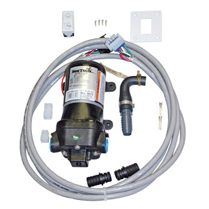 Raw Water Flush Kit with Wall Switch for EasyFit ECO Electric Macerating Head